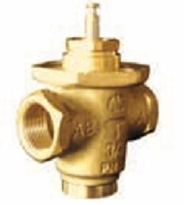 2-cestný uzavírací ventil PN 16, 1